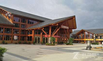 The Reception Center Of Jiuqu Wetland ...