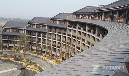 Nianhuawan Town in Lingshan