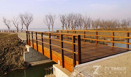 Vehicular Bridge In Kunshan